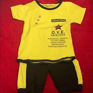 Boys Shortset BrandNew